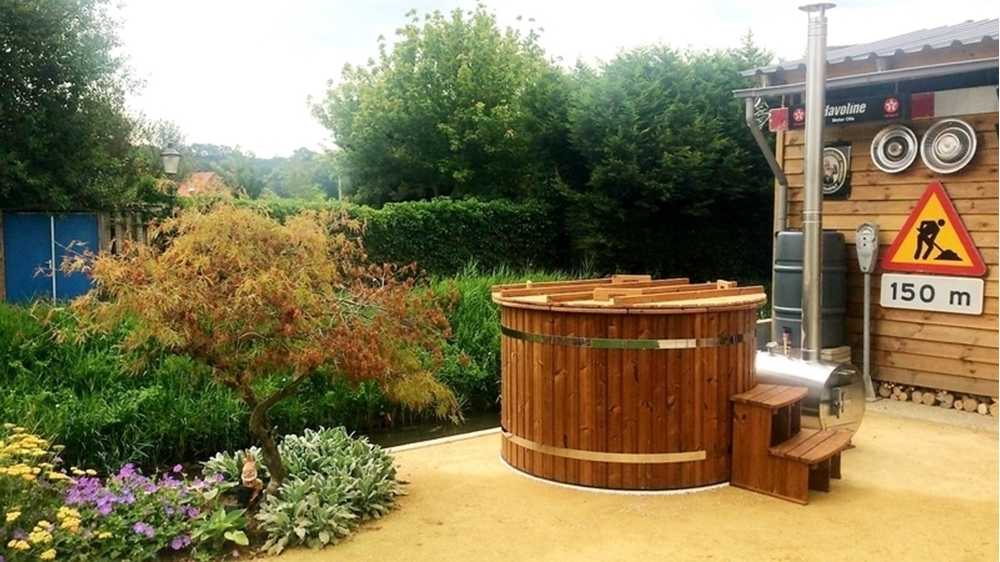 Hottub Thermowood